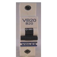 vb20 volex 20amp mcb
