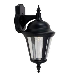 Ansell Latina Half Lanterns Standard PIR or Photocell Black or White IP65