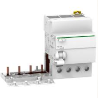 Schneider 4p-63A-30mA-AC earth leakage add-on block